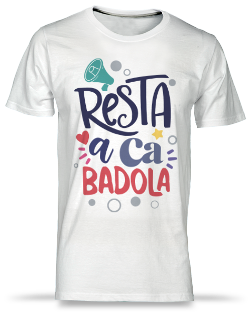 t-shirt stampata badola